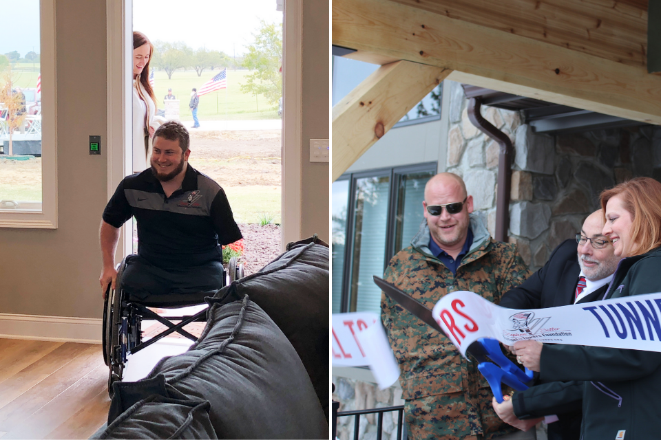 Mark Beyers Home Dedication |Kevin Trimble Home Dedication | Building for America's Bravest