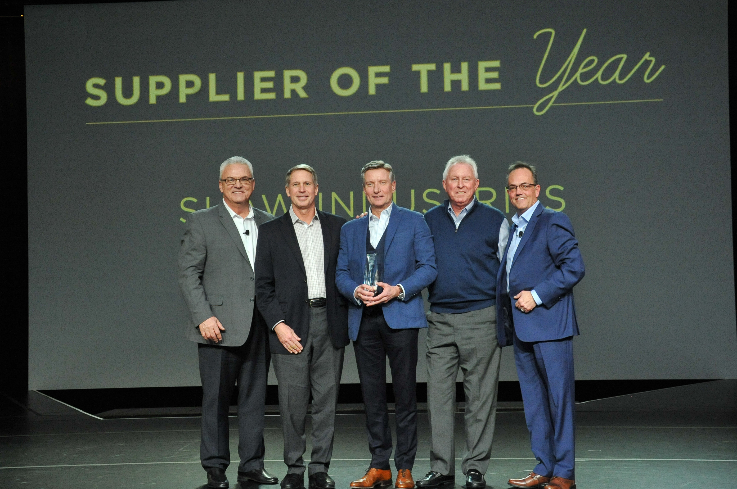 Shaw Industries, Supplier of the Year, Carpet One Floor & Home